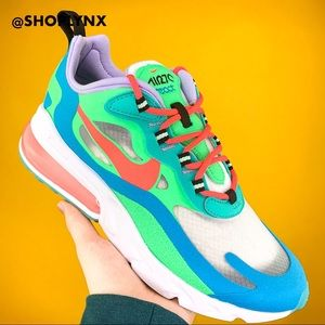 Nike Psychedelic Air Max 270 React Green Sneaker